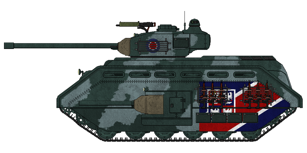 Constitutional Empire of Imperial Arcand FortnumH1HeavyTank